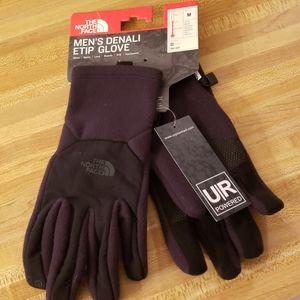 North Face Men's Denali E Tip gloves